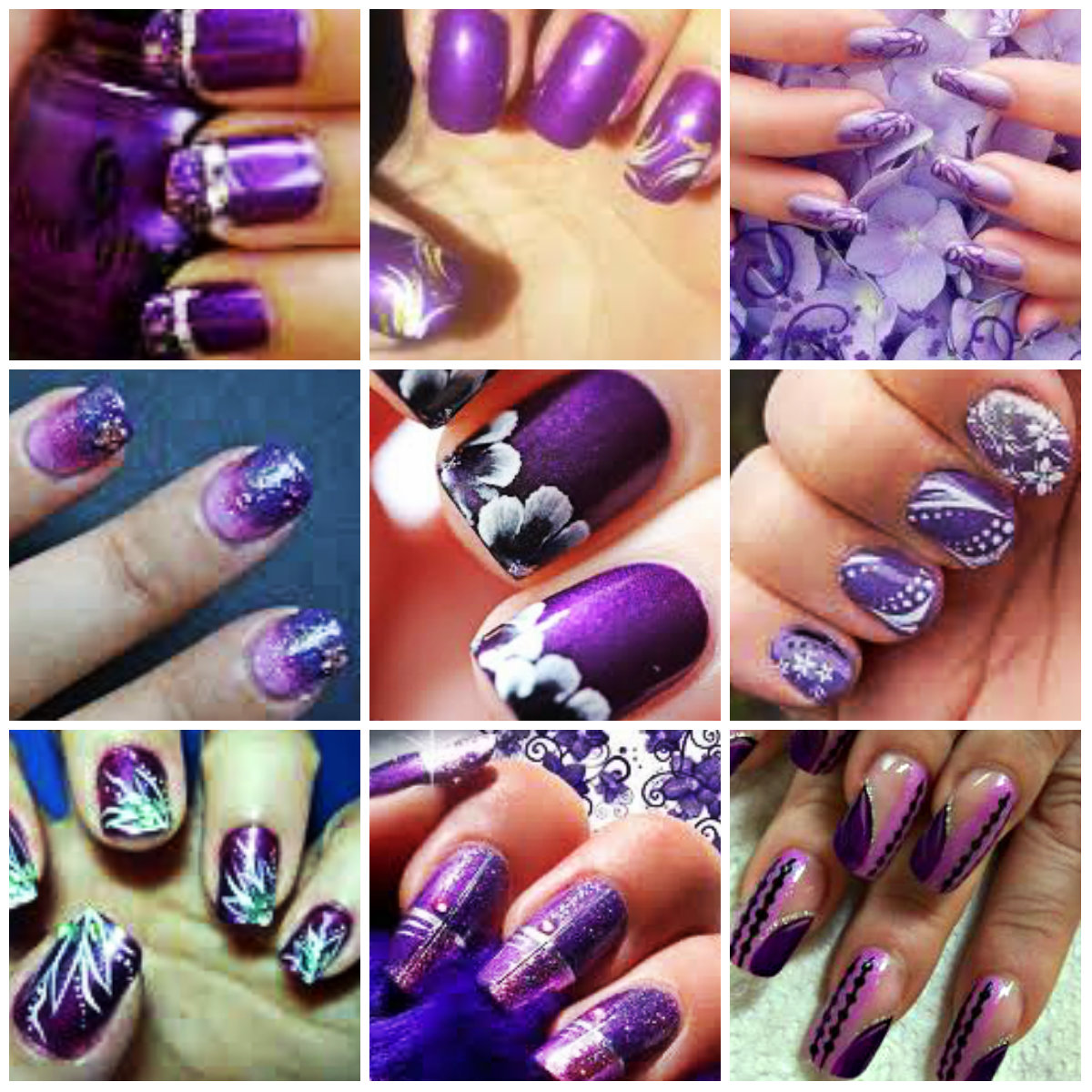 Hd nail art designs gallery nail art and nail design ideas simple purple nail art designs choice image nail art and nail purple color nail art design prinsesfo Gallery